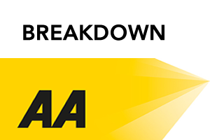 AA -Car and caravan breakdown recovery