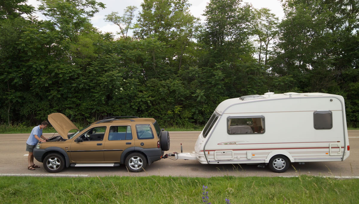 Caravan Car Breakdown Cover