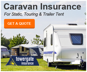 Touring caravan insurance from Towergate.