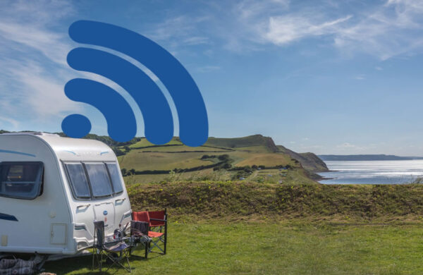 Mobile internet connections caravan and camping